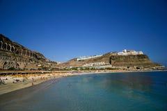 Beroemde '' Playa DE Amadores ''. Royalty-vrije Stock Fotografie