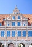 Beroemde steden in Polen - Gdansk - Danzig. Royalty-vrije Stock Afbeelding