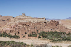 Beroemde Tamnougalt kasbah Stock Fotografie