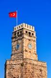 Beroemde toren in Antalya Turkije Stock Foto