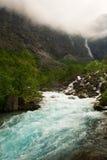 Beroemde waterval Stock Foto's