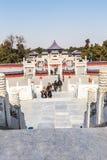 beroemdste oude architectuur van de wereld de van de tempel van hemel in Peking, China royalty-vrije stock afbeeldingen