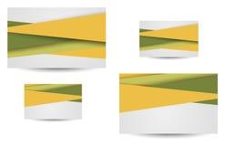 Beroeps en ontwerperadreskaartje Stock Afbeeldingen
