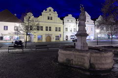 Beroun at night Stock Photography