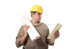 Überprüfung von Schreibarbeit Lizenzfreies Stockfoto