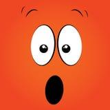Überraschtes Gesicht Stockfotos