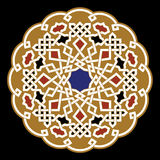 Berrechid Arabisch-Verzierung Lizenzfreie Stockfotos