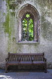 Überreste der St.-Dunstan-in-d-Osten-Kirche in London Stockbild
