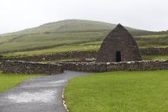 Überreste Kirche der des 7. Jahrhunderts Lizenzfreies Stockfoto