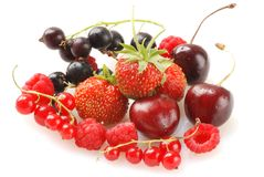 Berries Royalty Free Stock Photography
