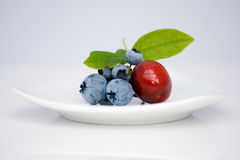 Berries. A fresh pic of asorted berries Royalty Free Stock Photo