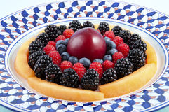Berries, blueberries, blackberries, raspberries Royalty Free Stock Photo