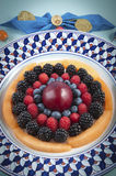 Berries, blueberries, blackberries, raspberries Royalty Free Stock Photography