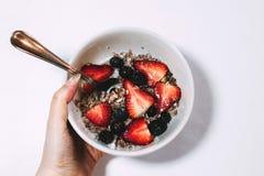 Berries, Blueberries, Breakfast Royalty Free Stock Image