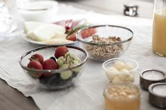 Berries, Blur, Bowls stock image