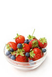 Berries in a bowl Stock Image