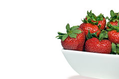 Berries in bowl Royalty Free Stock Photo
