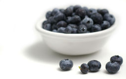 Berries in a bowl Royalty Free Stock Images