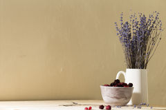 berries in a bowl Royalty Free Stock Image