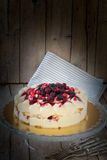 Berries Cake On Cake Stand Royalty Free Stock Image