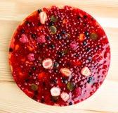 Berries cake Stock Image