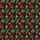 Berries dark seamless pattern Royalty Free Stock Photography