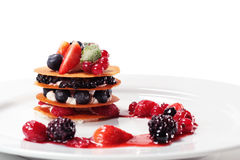 Berries Dessert Royalty Free Stock Photo