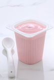 Berries french style yogurt Royalty Free Stock Photos