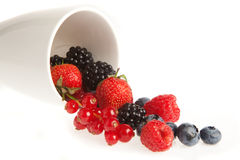 Berries and fruits Royalty Free Stock Photos