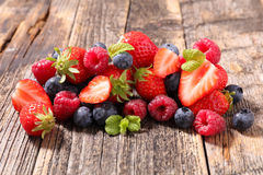 Berries fruits Stock Images