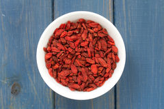 Berries of goji Stock Image