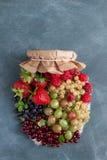 Berries jam Stock Photography