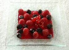 Berries mix dessert Royalty Free Stock Photos