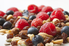 Berries and Nuts Royalty Free Stock Image