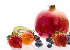 Berries And Other Fruit For A Multivitamin Boost Royalty Free Stock Image