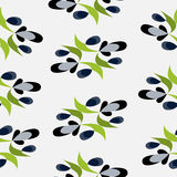 Berries retro pattern colorful abstract background Stock Photo