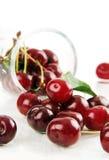Berries ripe red cherries. Stock Image