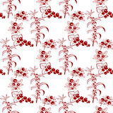 Berries seamless pattern Stock Photos