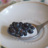 Berries In A Spoon Royalty Free Stock Photo