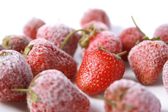 Berries of strawberry Stock Photos