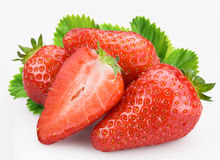 Berries of strawberry Stock Photography