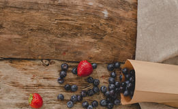 Berries on the table Royalty Free Stock Images