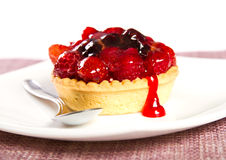 Berries tart Stock Images