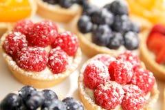 Free Berries Tarts Display Royalty Free Stock Photos - 27345218