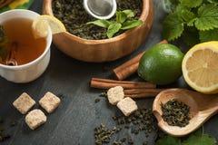 Berries  tea Royalty Free Stock Image