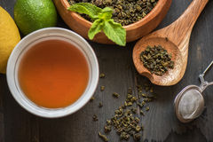 Berries  tea Royalty Free Stock Photo