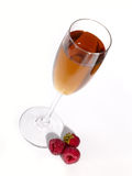 Berries and wine still-life. Royalty Free Stock Photos