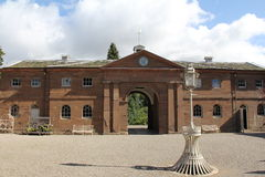 Berrington Hall Courtyard. Berrington Hall Country House in Herefordshire, England Stock Photography