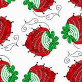 Berry abstract pattern background Stock Image