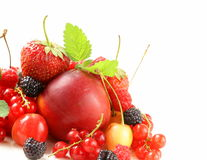 Berry assortment Royalty Free Stock Images